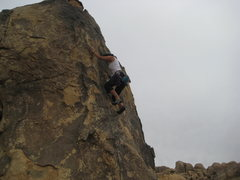 Rock Climbing Photo: me on Crown of Thorns (5.9*)