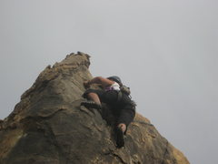 Rock Climbing Photo: me on What's the Point