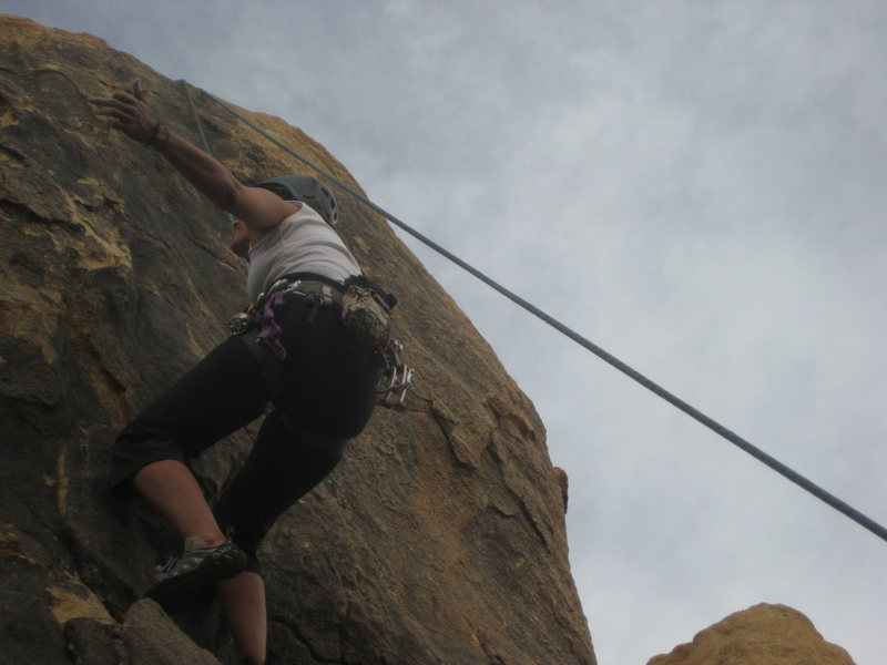 me giving hand signals to Al on The Owl (5.8 TR)