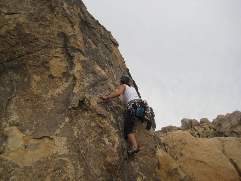 me leading Crown of Thorns (5.9*)