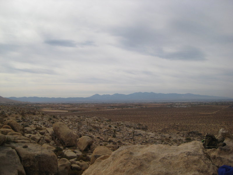 Rock Climbing Photo: view of High Desert