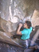 Rock Climbing Photo: having a go