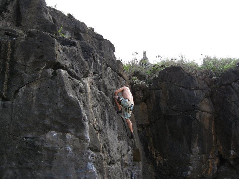 Rock Climbing Photo: Waimea Bay Boulders
