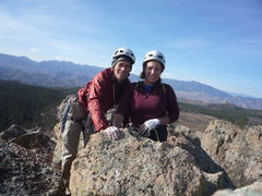 Rock Climbing Photo: Summit of Sheeps Nose.