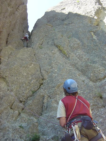 Rock Climbing Photo: Butt shot but this shows the start if you end up i...