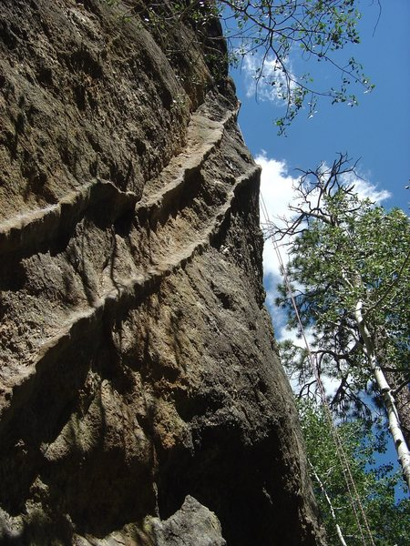 Rock Climbing Photo: Such amazing rock features!