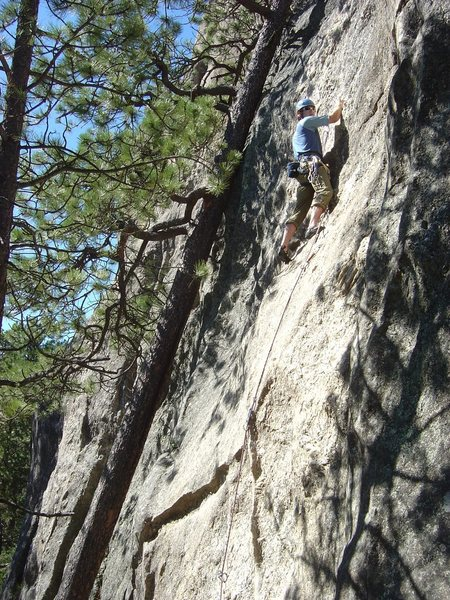 Rock Climbing Photo: Jay on Bolts for Bob, sometime between 2005 and 20...