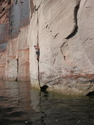 Rock Climbing Photo: Lake Powell