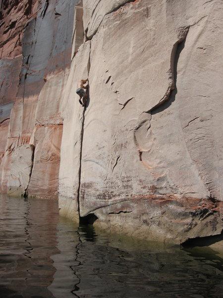 Rock Climbing Photo: Higher and higher, baby, dune dune!