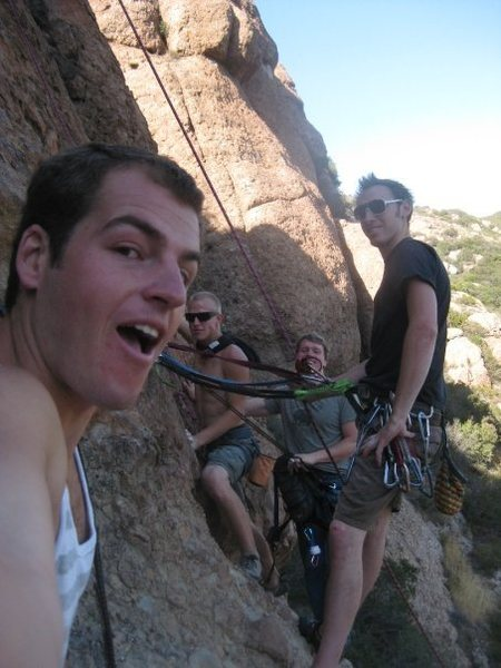 Rock Climbing Photo: 2nd pitch party