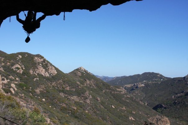 Rock Climbing Photo: kamakazie cave more jugs than hooters