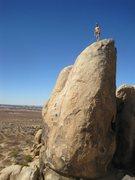 Rock Climbing Photo: brewser 5.9 slabby crap