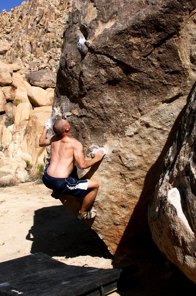 Rock Climbing Photo: Bouldering in JTree
