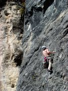 Rock Climbing Photo: Can't remember which route, was a 5.10d.  April 23...