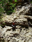 Rock Climbing Photo: Can't remember which route.  Sometime in 2006, I t...