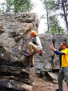 Rock Climbing Photo: I think this is the top of Southern Discomfort, Ap...