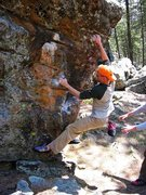 Rock Climbing Photo: No idea what this was, sometime in 2004, I think. ...
