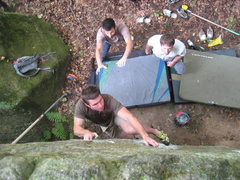 Rock Climbing Photo: jdavis bearing down