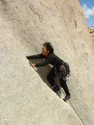Rock Climbing Photo: Even ninjas don't lieback it.