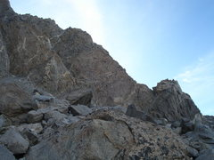 Rock Climbing Photo: SW Buttress of Thunderbolt Peak, as seen while app...