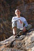 Rock Climbing Photo: Just sitting.
