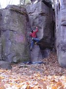 Rock Climbing Photo: Super fun problem.