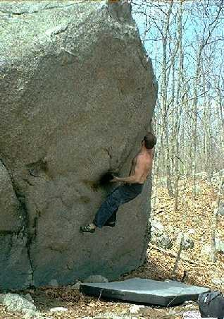 Rock Climbing Photo: Another angle.