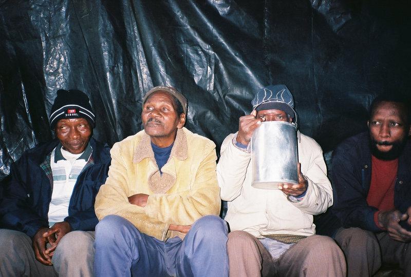 Rock Climbing Photo: Shanti-Town Pub.  South Africa. 2001