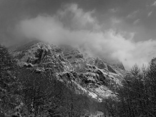 Rock Climbing Photo: God I love the snowy San Juans