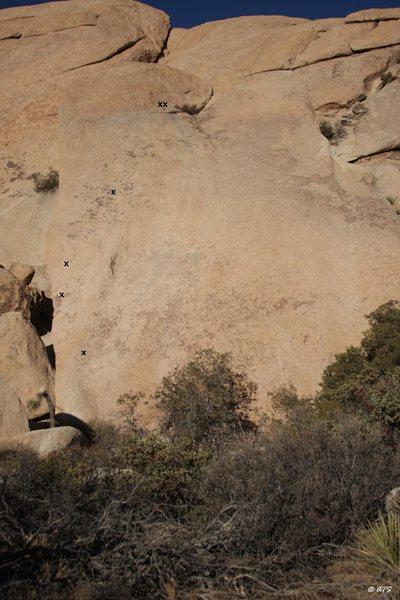 Rock Climbing Photo: Abstract Roller Disco topo
