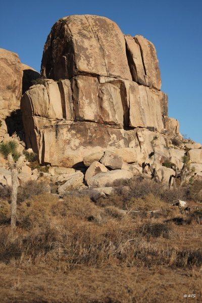 Rock Climbing Photo: Little Rock Candy Mountain