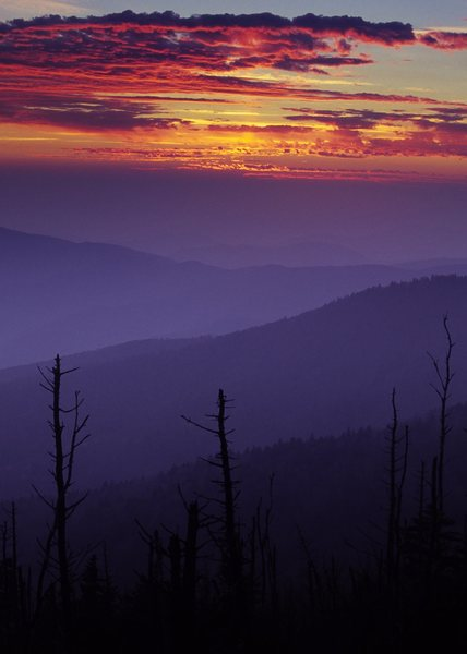 Sunset, Great Smoky Mountains National Park