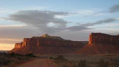 Rock Climbing Photo: Indian Creek Sunset