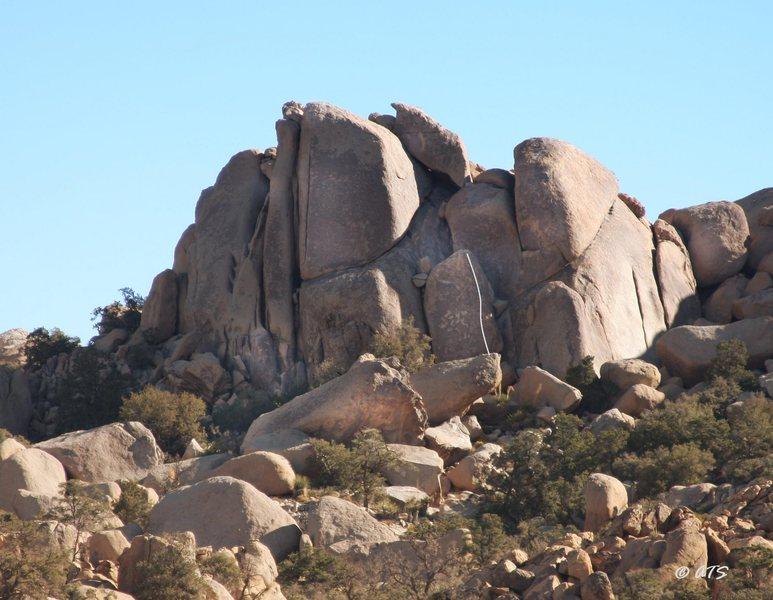 Rock Climbing Photo: All-reet Arete, 5.8