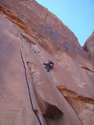Rock Climbing Photo: Doing laps on the Flake of Wrath