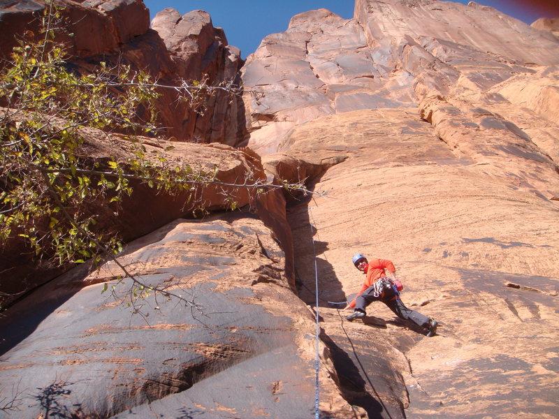 Rock Climbing Photo: 3rd lap on Seibernetics
