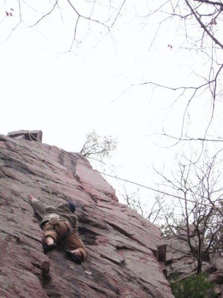 Rock Climbing Photo: Andy Hansen mid-Cheatah.