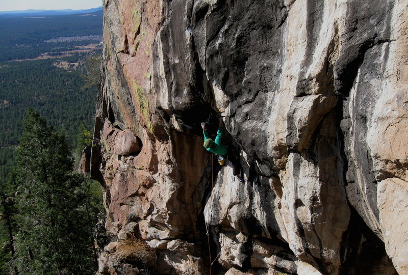Colin Cox, Second ascent of Solitaire, 12-.