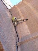 Rock Climbing Photo: Stellar climbing on Spaghetti Western, Indian Cree...