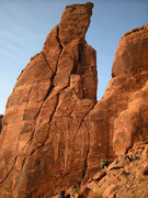 Rock Climbing Photo: Wondering if the blocks that I'm touching are as l...
