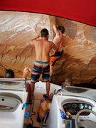 Rock Climbing Photo: Boat start.