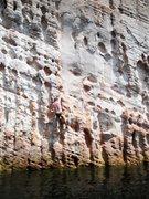 Rock Climbing Photo: Again steep than it looks!