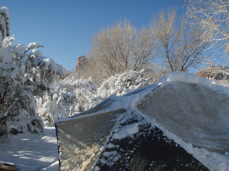 Rock Climbing Photo: November 09 snowfall- beautiful and cold, Indian C...