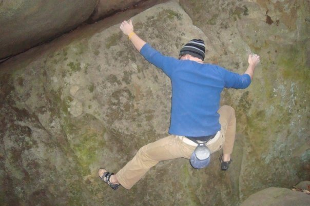 Rock Climbing Photo: lower moves...