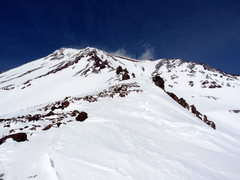 Rock Climbing Photo: Casaval Ridge is the ridgeline on the left