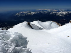 Rock Climbing Photo: Looking back on Casaval Ridge from the summit. The...