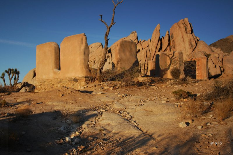 Rock Climbing Photo: Ryan Ranch ruins