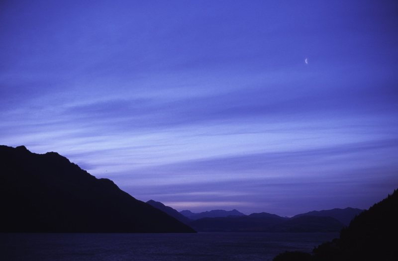 Wanaka sunset, New Zealand's South Island