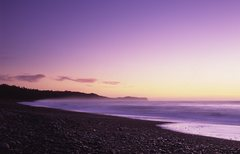Rock Climbing Photo: Sunset on New Zealand's South Island