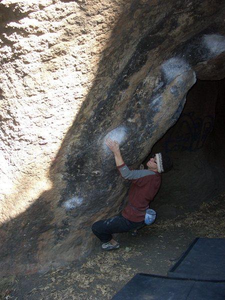 Rock Climbing Photo: Heart Cave Direct